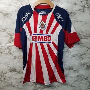 Vintage Chivas De Guadalajara Reebok Jersey Men M